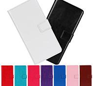 Normallack PU-Leder Ganzkörper-Fall mit Standplatz und Kartensteckplatz für LG g Pro Lite Dual-D686 (Farbe sortiert)