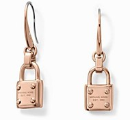 Personality Delicate Lock Shape Earrings