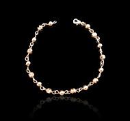 Chaînes & Bracelets 1pc,Or Rose Bracelet Plaqué or Bijoux Femme