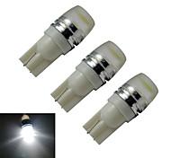 1.5W T10 Lichtdekoration 1 High Power LED 90lm lm Kühles Weiß DC 12 V 3 Stück