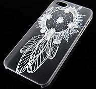 перезвон ветра узор прозрачная задняя крышка для iPhone5 / 5S