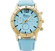 Women's Fashtion Luxurious Case Leather Watch