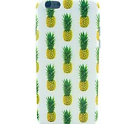 Yellow Pineapple Pattern TPU Soft Case for iPhone 5C