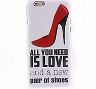 Red High Heels Pattern Case for iPhone 6