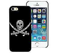 Unique Skull Design PC Hard Case for iPhone I4