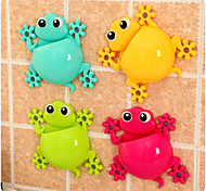 Gecko Powerful Suction Cup Toothbrush Rack(Random Color)