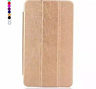 8 Inch Three Folding Pattern PU Leather Case with Stand  for Asus MeMO Pad 8 ME581C(Assorted Colors)