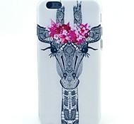 girafe modèle TPU matériau de téléphone pour iphone 5c