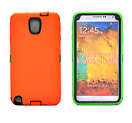 3 in 1 Defender Case Rubber Combo Hybrid Impact Silicone Armor Hard Case Cover for Samsung galaxy Note3/N9000