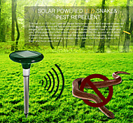 Outdoor Safe Harmless Solar Power Multi-Pulse Snake Mole Repeller