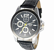 Men's casual waterproof quartz watch