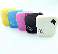 Fashinonable Bowknot Pattern Candy Color Cantact Lens Case (Random Color)