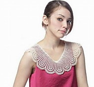 Fashion Lace Hand Work Collar Necklaces For Women Daily/Casual