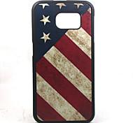 Das neueste Modell samsung galaxy s6 Silikontelefonhülle USA-Flagge