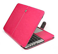 MacBook Pro Retina 15,4 Zoll Fall PU-lederner Kasten-Kastenabdeckung für Apple MacBook Pro Retina 15,4 '' (verschiedene Farben)