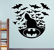 Wall Stickers Wall Decals, Batman PVC Wall Stickers.