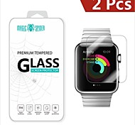 Magic Spider®0.2mm 2.5D Private Brand Damage Protection Tempered Glass Screen Protector for Apple Watch 38mm (2PCS)