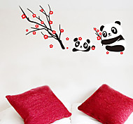 Lovely Chinese Style Panda PVC Wall Stickers Wall Art Decals