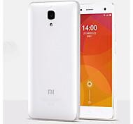 capa de silicone transparente de volta para Xiaomi MI4