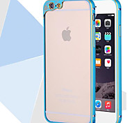 Frosted Metallic Bumper Frame for iphone6 plus
