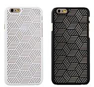 Otro - Retro/Diseñada en China - para iPhone 6 ( Negro/Blanco , Plástico )