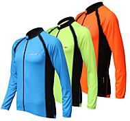 REALTOO Unisex Long Sleeve Spring/Summer/Autumn Cycling Jerseys