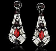 Fashion Crystal Pendant Earrings