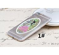 materiale plastico amore stile abito da sposa per iPhone 6 (colori assortiti)