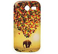 Fliegen Elefantmalerei tpu Fall für Samsung-Galaxie-Tasche 2 G110