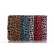 Samsung Galaxy S6 Phone Holster Phone G9200 Leopard PU Protective Sleeve With Rhinestones (Various Colors)
