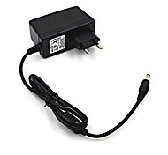 24W 12V 2A AC Power Adapter for LED Light Bulb and Surveillance Security Camera (5.5x2.1mm/100~240V/EU Plug)