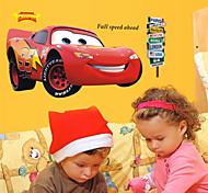 Cartoon Cars Lightning McQueen PVC Wall Stickers Wall Art Decals
