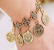 Women's Vintage  Tassel Coins Alloy Fashion Bracelets