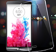 LG G3 Plastic / ABS Back Cover Transparent case cover