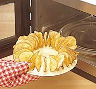 assadeira grande tamanho chip de batata cozida máquina torrefadora fabricante de lanches 20,5 * 20,5 * 4,5 centímetros