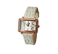 square fashion ladies watch