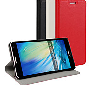 PU Leather Magnetic Ultra-thin Flip Cover Wallet Card Slot Case Stand Skin Cover for Samsung Galaxy A7(Assorted Colors)
