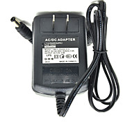 10W 5V 2A AC Power Adapter for LED Light Bulb and Surveillance Security Camera (5.5x2.1mm/100~240V/US Plug)