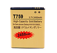 2450mAh Cell Phone Battery for Samsung Galaxy W i8150 S5820