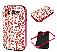 COCO FUN® White Floral Pattern Soft TPU Back Case Cover for Samsung Galaxy Grand Neo I9060