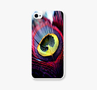 Feather Type Pattern PC Back Case for iPhone5C