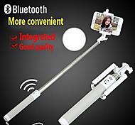 do bluetooth selftimer selfie vara auto-bar prorrogável alavanca handheld monopé auto zoom para samsung / iphone e outros