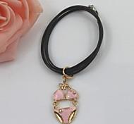 Fashion Alloy/Rhinestone Bracelet Drip Glaze With Diamond Bra Pants Style Charm Bracelets Daily/Casual