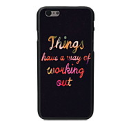 Working Out Design PC Hard Case for iPhone 6 Plus