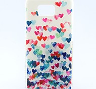 Love Dancing Pattern TPU Soft Cover for Galaxy Alpha G850