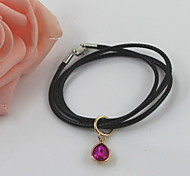 Fashion Crystal/Alloy Bracelet Drop Water Charm Bracelets Daily/Casual