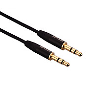 hdclub® 1m 3.2ft TPE materiaal audiokabel 3,5 mm man op man uitbreiding aux kabel universele pc