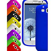 big d Silicagel weiche Tasche für Samsung i9300 Galaxy S3 (farbig sortiert)