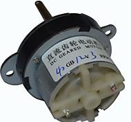 Dc 40mm 12v 3rpm motor reductor eléctrico de alta torsión