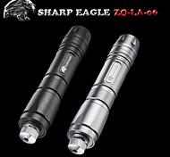 SHARP EAGLE/ZQ-LA-06 Green Laser Pointer(5mw.532nm.1x18650.Black、Silver)